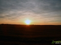 Zachód słońca nad Czarną Strugą