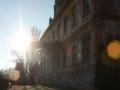 Przód pałacu