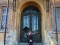 Wejście do pałacu.