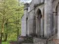 Widok na pałac w Drwalewicach