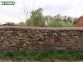 Borów Wielki - fragment muru