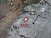 Oznaczenia szlaku w Alpach
