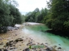 Strumień z wodospadu Slap Savica