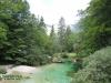 Strumień do jeziora Bohinjsko