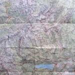 Duża mapa Alp Julijskich w skali 1-50 000