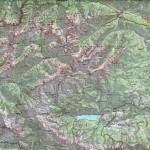 Mapa Alp Julijskich w skali 1-50 000