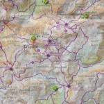 Mapa: szlaki na Triglav