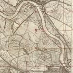 Mapa Fortyfikacji Oderstellung Odra