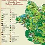 Mapa przyrodniczo-kulturowa związku gmin zagłębia miedziowego