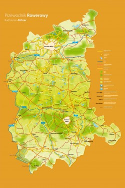 Mapa szlaków