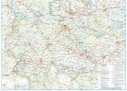 Mapa lubuskich szlaków