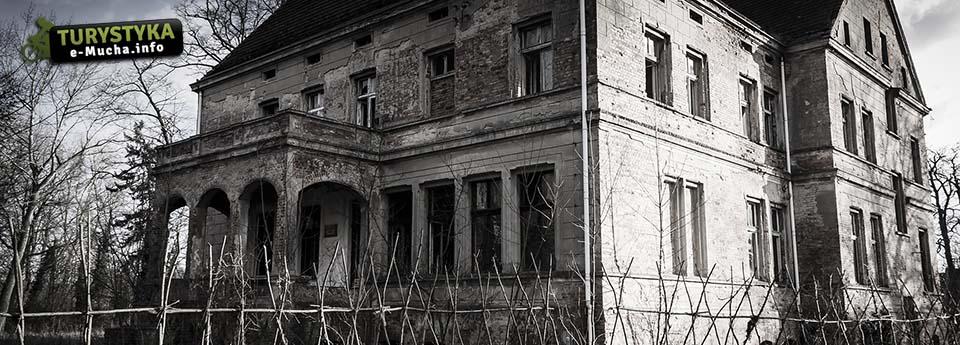 Opuszczony pałac w Zbarzewie