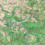 Mapa Szwajcaria Saksońska: Pirna, Drezno, Bastei