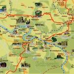 Mapa Park Narodowy Szwajcaria Saksońska